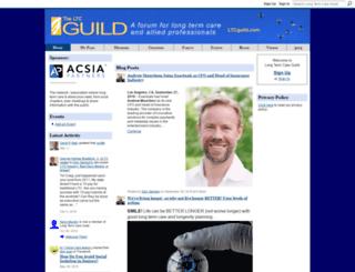 ltcguild.ning.com screenshot