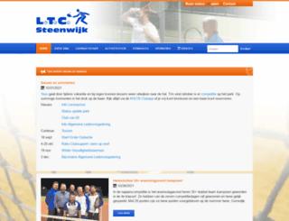 ltcsteenwijk.nl screenshot