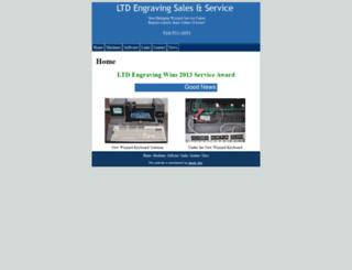 ltdengraving.com screenshot