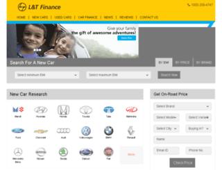 ltfinance.gaadi.com screenshot
