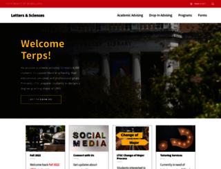 ltsc.umd.edu screenshot