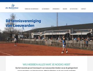 ltvdebontekoe.nl screenshot