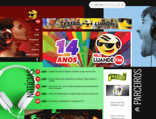luandefm.com.br screenshot