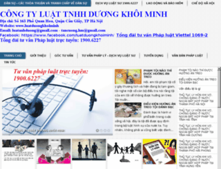 luatduongkhoiminh.com screenshot
