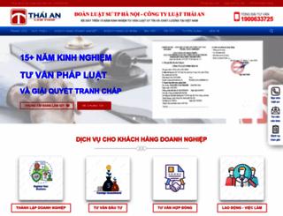 luatthaian.vn screenshot