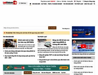luatvietnam.vn screenshot