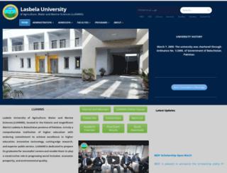 luawms.edu.pk screenshot