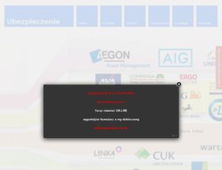 lubartowubezpieczenia.pl screenshot