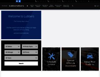 lubberscars.com screenshot
