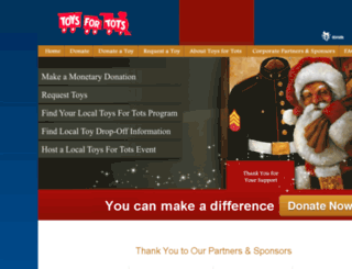lubbock-tx.toysfortots.org screenshot