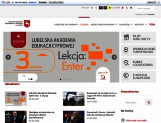 lubelskie.pl screenshot