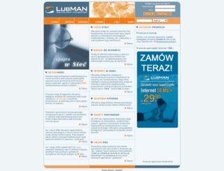 lubman.pl screenshot