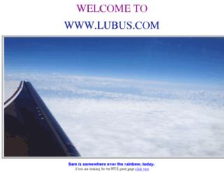 lubus.com screenshot