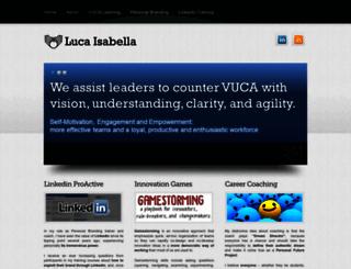 lucaisabella.it screenshot