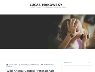lucasmakowsky.com screenshot
