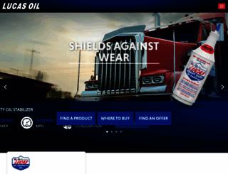 lucasoil.com screenshot