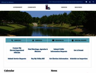 lucastexas.us screenshot