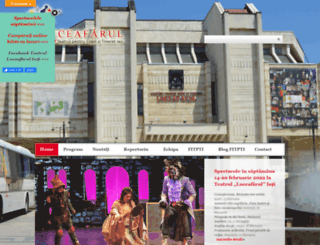 luceafarul-theatre.ro screenshot