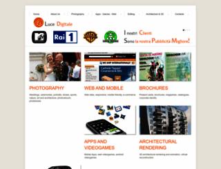 lucedigitale.com screenshot