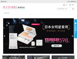 lucemall.com.cn screenshot