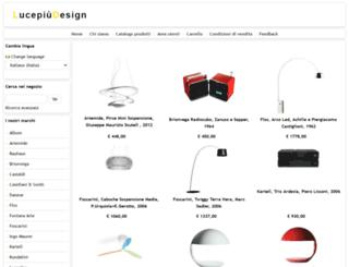 lucepiudesign.com screenshot