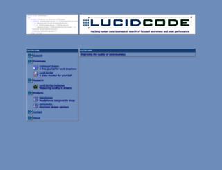 lucid-code.com screenshot