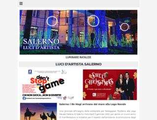 lucidartistasalerno.net screenshot