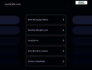 lucidcafe.com screenshot