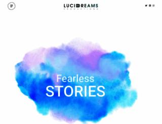 luciddreamsprod.com screenshot