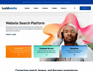 lucidworks.com screenshot