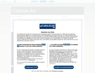 lucilecoste.canalblog.com screenshot