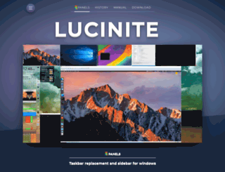 lucinite.com screenshot