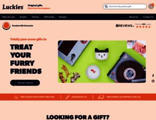 luckies.co.uk screenshot