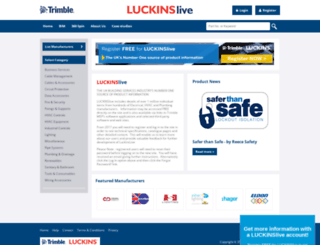 luckins.co.uk screenshot