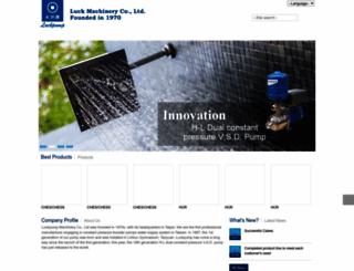 luckpump.com screenshot