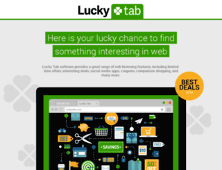 lucky-tab.com screenshot