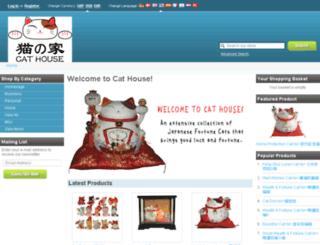 luckycathouse.com screenshot