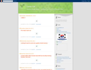 luckycol.blogspot.com screenshot