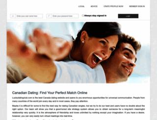 luckydatingclub.com screenshot