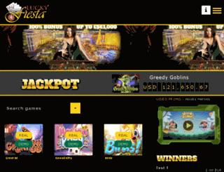 luckyfiesta.com screenshot
