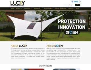 luckyinternational.net screenshot