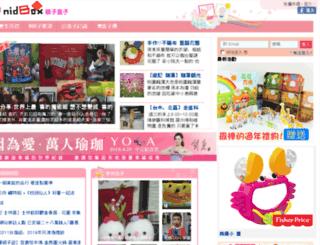 luckymom88.nidbox.com screenshot