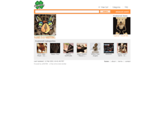 luckyshipper.ecrater.com screenshot
