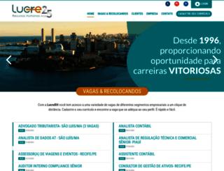 lucrerh.com.br screenshot