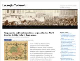 lucretiutudoroiu.ro screenshot