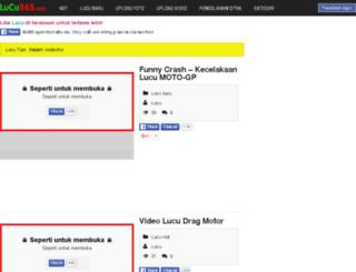 lucu365.com screenshot