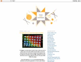 lucyandnorman.blogspot.com screenshot