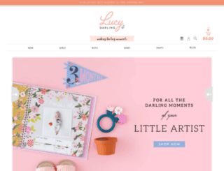lucydarlingshop.com screenshot