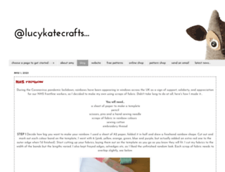 lucykatecrafts.blogspot.com screenshot
