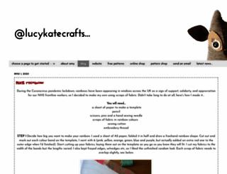 lucykatecrafts.blogspot.com screenshot